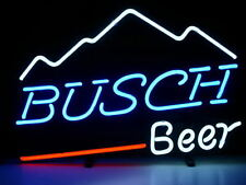 "New Busch Beer Mountain Bar Neon Light Sign 18""x14"""