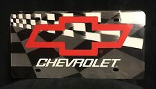 CHEVY LICENSE PLATE, STANDARD 6X12 INCHES, ALUMINUM