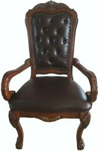 ACME 12170 Dresden Office Chair, Cherry Oak Finish