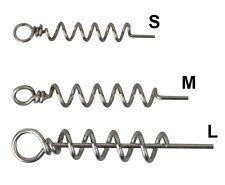 SAVAGE GEAR Corkscrews S/M/L 8pcs f. Gummifisch Goby Real Eel Herring Cork Screw