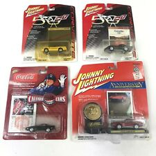 Lot of 4 Johnny Lightning Anniversary Special Edition Cars New In box