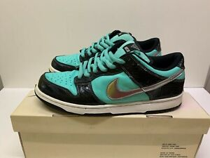 NIKE SB DUNK LOW AQUA CHROME DIAMOND UK11 US12