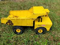 "Mighty Tonka Dump Truck 19"" Pressed Steel XMB-975 Vintage  1970s"
