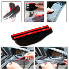 2PCS L& R Rear View Side Mirror Flexible Sun Visor Shade Rain Shield Water Guard