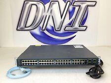 Cisco WS-C3560V2-48PS-S 48 Port Fast Ethernet V2 PoE Multilayer Switch IPv6 KCK