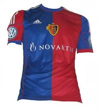 adidas FC Basel Trikot Home 2013/2014 Herren Rot-blau XXL