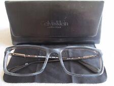 Calvin Klein grey patterned glasses frames. CK 7975. With case.