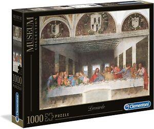 Clementoni 1000 Piece Jigsaw Puzzle- Museum Collection- Leonardo The Last Supper
