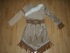 NEW Walt Disney World Parks POCAHONTAS Girls DRESS 2/3 Indian HALLOWEEN COSTUME