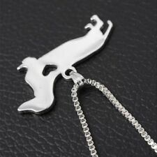 In Steel Cute Stainless Dachshund Animal Shaped Pendant Dog Necklace Puppy