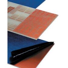 Mega Microtrak Positive Photoresist FR4 Double Sided 220 x 100mm - 1 Sheet