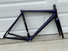 Allied Alfa Disc 52cm Harlequin Blue/Red Carbon Road Frameset