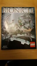 LEGO BIONICLE SET 8622 NIDHIKI RARE Instruction Booklet