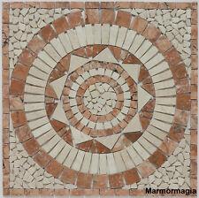 Travertin Marmor Antikmarmor Naturstein Fliese Rosone