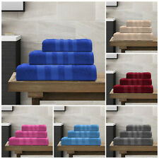 Cotton Bathroom Towels Bale Set Hand Bath Face Gym Soft Towel Jumbo Bath Sheet