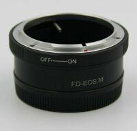 FD-EOS M Adattatore obiettivi Canon FD su fotocamere Canon EOS M mirrorless EF-M