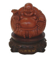"8"" Rotatable Chinese Laughing Fat Money Buddha Statue"