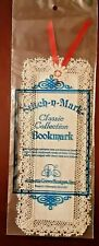Stitch-n-Mark Collection Bookmark for Cross Stitch 18 Count Aida Cloth Fabric H