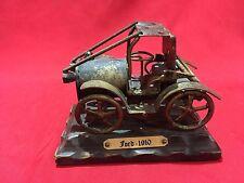 VINTAGE CAST IRON CAR FORD 1910 RETRO CAR ARTISANALLY MADE ART VEHICLE TOY VAN