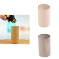 2x Small Wood Air Freshener Essential Oils Perfume Diffuser for Desk Car SPA