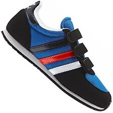 Adidas Originals Adistar Racer Children Shoes Trainers Blue Red White 23.5