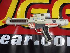 1996 HASBRO STAR WARS STORM TROOPER White/Orange BLASTER GUN COSPLAY Light Sound