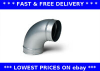 90 degree elbow bend ventilation pipe extractor hydroponic metal spiral ducting