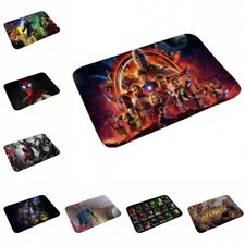 Marvel Avengers Captain America Thanos Spiderman Floor Door Mat Rug Home Carpet