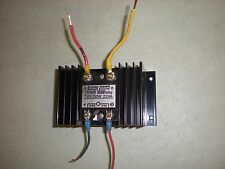IR Model D2W220A Solid State Relay w/Heat Sink - Tests OK