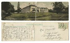 More details for 1909 panoramicard postcard, the girl's college / county school, pontypool. d21