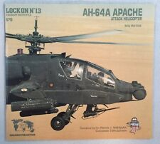 Lock On N13 Aircraft Photo File AH-64A Apache Attack Helicopter Willy Peeters