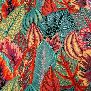 Kaffe Fassett Coleus Leaves Cotton Quilting Craft Fabric