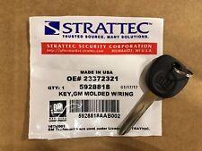 NEW GM Chevrolet Key Blank Uncut 2852058 STRATTEC 5928818 *FREE SHIP*