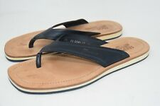 Salvatore Ferragamo Flip Flop Leather Thong  SHOES ITALY  MEN'S SZ 11 D