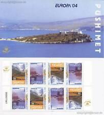 Europa CEPT 2004-Albania marchi QUADERNO MH 8 parte gezähnt-EUR 50,00