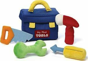 """Baby GUND My First Toolbox Stuffed Plush Playset 8"""" 5 pieces"""
