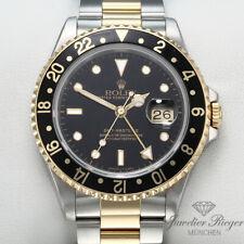 Rolex GMT-Master II 16713 Stahl Gelbgold 750 Automatik Herrenuhr Gold 2