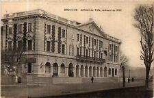 CPA  Brioude - L'Hotel de Ville, restaurant en 1913 (585685)