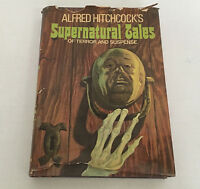 Alfred Hitchcock's supernatural tales of terror and suspense HC book illustrated