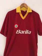 Maglia calcio AS Roma VINTAGE 80 90 Barilla soccer shirt jersey maillot camiseta