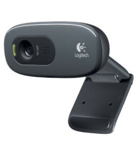 Logitech  720p HD C270 Webcam with Built-in Mic USB Video conferencing Meeting