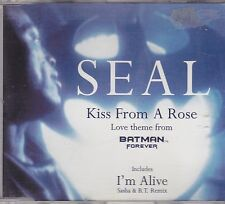 Seal- Kiss From a rose cd maxi single