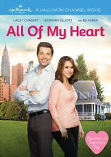 ALL OF MY HEART DVD - SINGLE DISC EDITION - NEW UNOPENED - HALLMARK