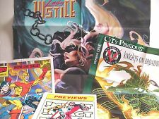 INDEPENDENT POSTERS (BROADWAY COMICS,HERO COMICS, TEKNO COMIX) FREE SHIP / GIFT