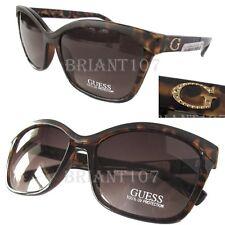 New GUESS GF0300 Old Havana/Brown Womens Sunglasses