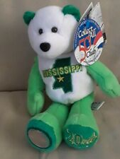 Mississippi Bear #20 Limited Treasures State Quarter Collectible Plush Bear