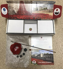 More details for tower of london ceramic ww1 poppy paul cummins mint condition box certificate