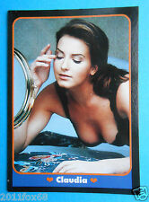 figurines cromos figurine masters cards 158 claudia ragazze da sogno 1993 moda v