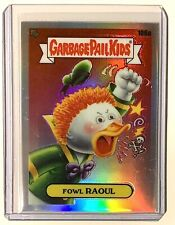 2020 Garbage Pail Kids Fowl Raoul Chrome Refractor #106a