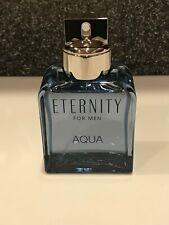 Eternity Aqua by Calvin Klein EDT Spray for Men~3.30z/100ml~NTIB